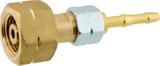 GOK Flaschenanschluss mit Trennstelle Kombianschluß x 6 mm Tülle 001