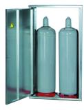 GOK Flaschenschrank für 2 x 33 kg Flaschenschutz ohne Rückwand 001