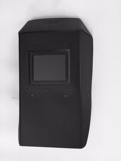 Handschutzschild aus schwarzem Diamantfiber