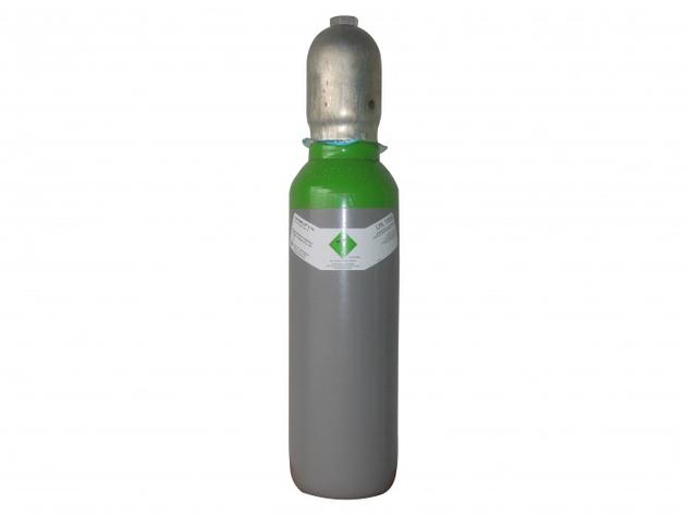 Schutzgas Stahlflasche   5 ltr. gefüllt - UN1956