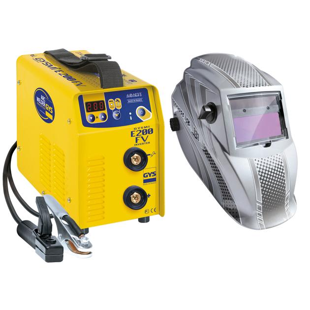 GYS Elektroden-Schweißinverter Gysmi E200 FV