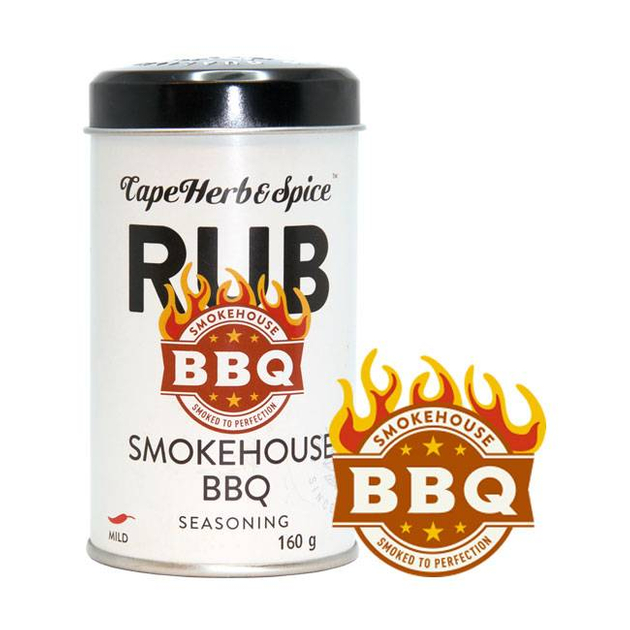 Cape Herb & Spice Rub Smokehouse BBQ 160g