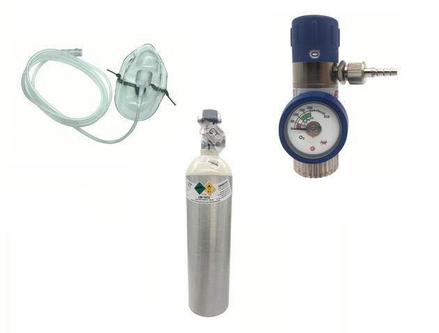 Sauerstoff Atemgerät Bundle