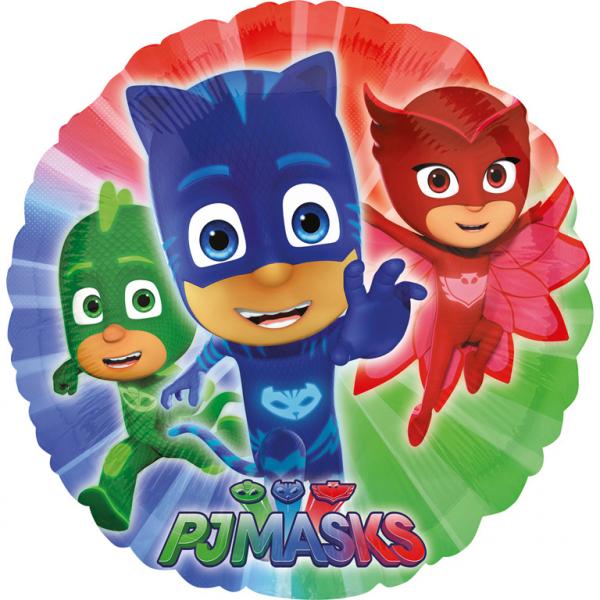 Amscan PJ Masks Folienballon Rund