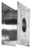 ORANIER Teleskop-Holzwanddurchführung 001