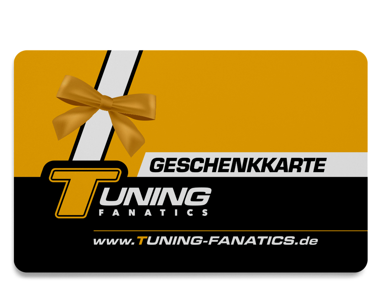Tuning-Fanatics Geschenkkarte
