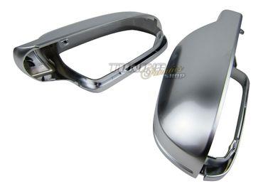 Design Folie Carbon Grau viele Fahrzeuge PREMIUM Spiegel Spiegelgehäuse Kappe