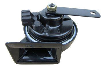 Hupe Horn Fanfare Signalhorn 12V TIEFTON Stecker ECKIG 2P für VW Audi Seat Skoda – Bild 1