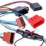 Aktiv Lautsprecher System an NORMALES RADIO Adapter Kabel für VW Audi Seat Skoda