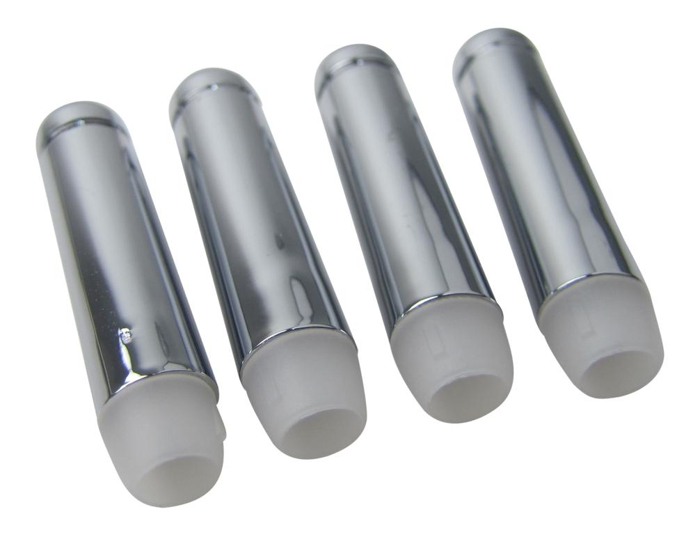 VW Bus T3 Führungsrohr Paar für Knopf Türverriegelung Türpin original