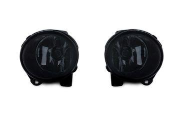 2x Nebelscheinwerfer Schwarz Smoke H11 Birnen L + R für BMW 3er E92 E93 / X5 E53 – Bild 1