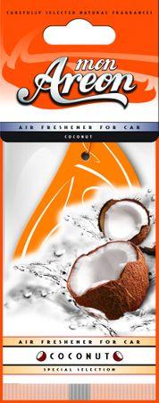 10x Original Areon Duftbaum Lufterfrischer Auto Duft in Kokos – Bild 1