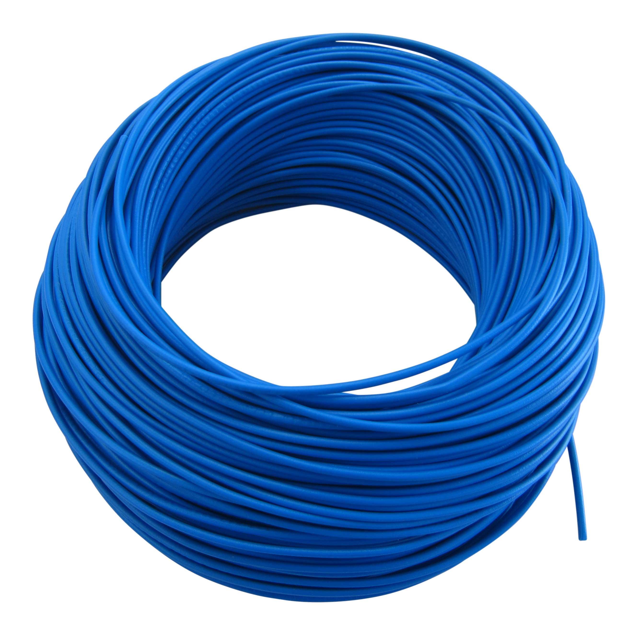 0,31€/m KFZ LKW Kabel Litze Leitung Flexible FLRy 0,75mm² 20m Blau M. in Germany