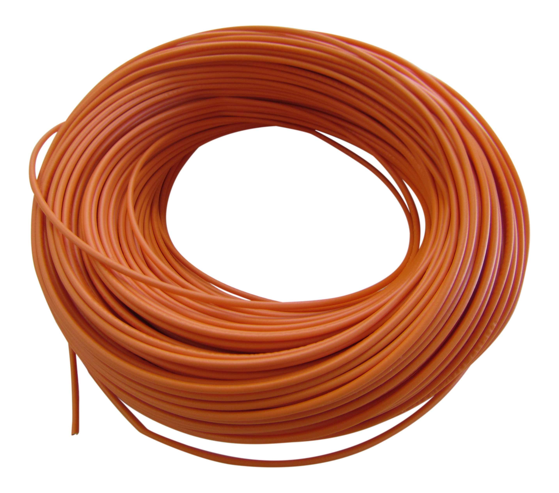 0,31¤/m KFZ LKW Kabel Litze Leitung Flexible FLRy 0,75mm² 20m Orange Germany