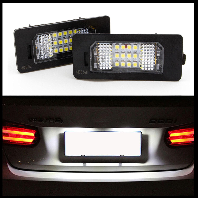 2 LED Kennzeichenbeleuchtung für BMW E82 E88 E90 E91 E92 E93 E39 E60 E61 E70 E71