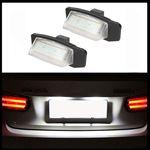 2x LED PREMIUM Kennzeichenbeleuchtung 18 SMD für Mitsubishi Eclipse Lancer Outlander
