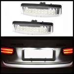 2x LED PREMIUM Kennzeichenbeleuchtung 18 SMD für Lexus ES300 ES330 GS300 GS400 GS430 LS200 LS300 LS430 RX300 RX330 RX350