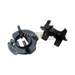 2x Xenon Scheinwerfer Birne Adapter für HID Kit H7 Typ B für VW und Audi