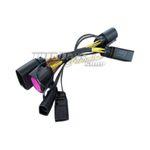 Adapter Kabelbaum Xenon auf Xenon Facelift LED TFL Scheinwerfer für Audi Q7 4L