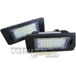 2x LED SMD Kennzeichenbeleuchtung Kennzeichen Leuchten CANBUS SET Eintragungsfrei-FREI !