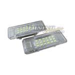 2x 18 SMD LED Fußraumbeleuchtung Türbeleuchtung PLUG&PLAY SET für BMW