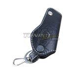 Schlüsseltasche Schlüsseletui Klappschlüssel Schlüssel LEDER Weiss für BMW