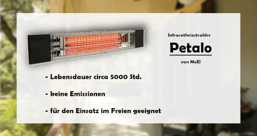 Petalo Halogen Heizstrahler