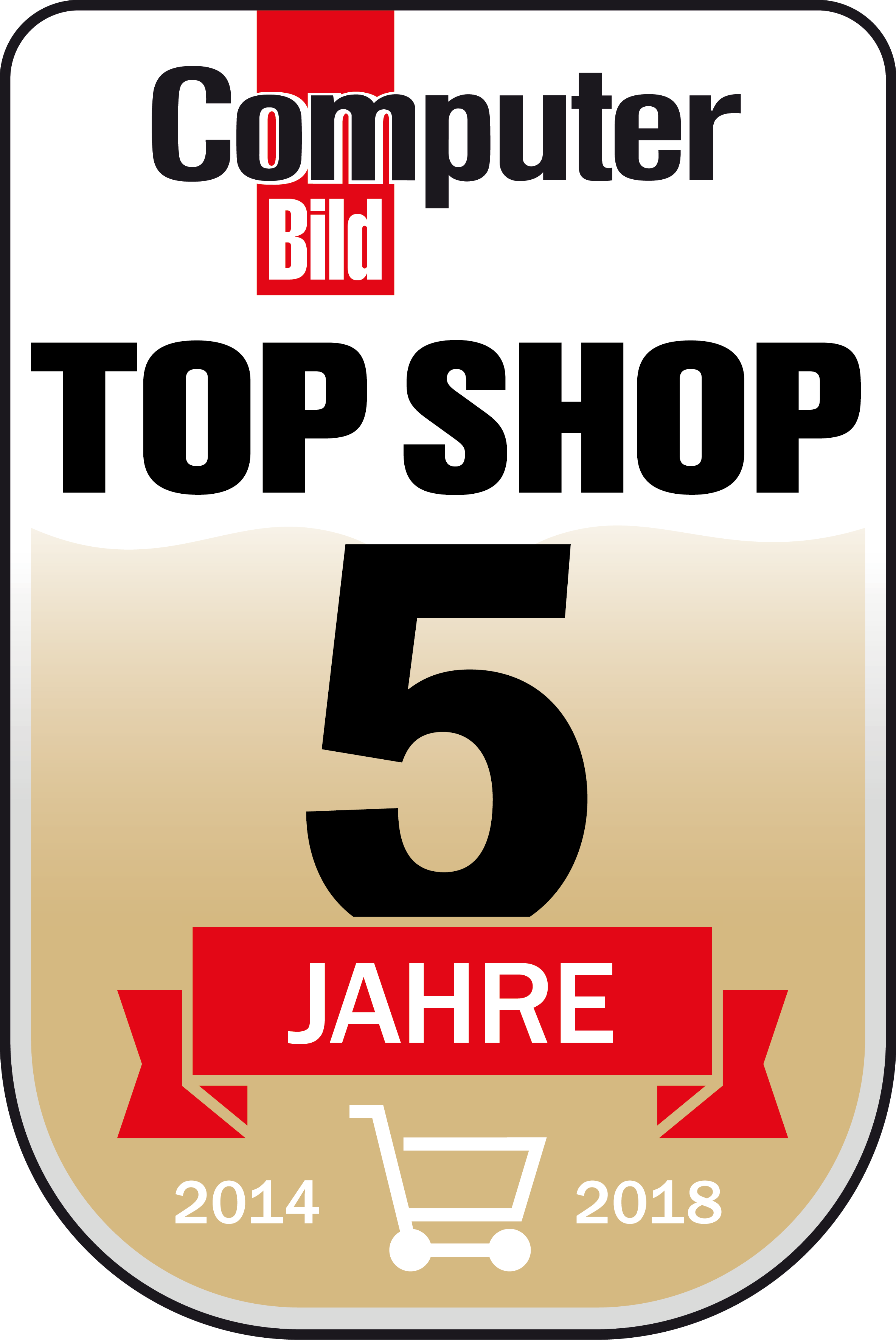 Top Shop - 5 Jahre