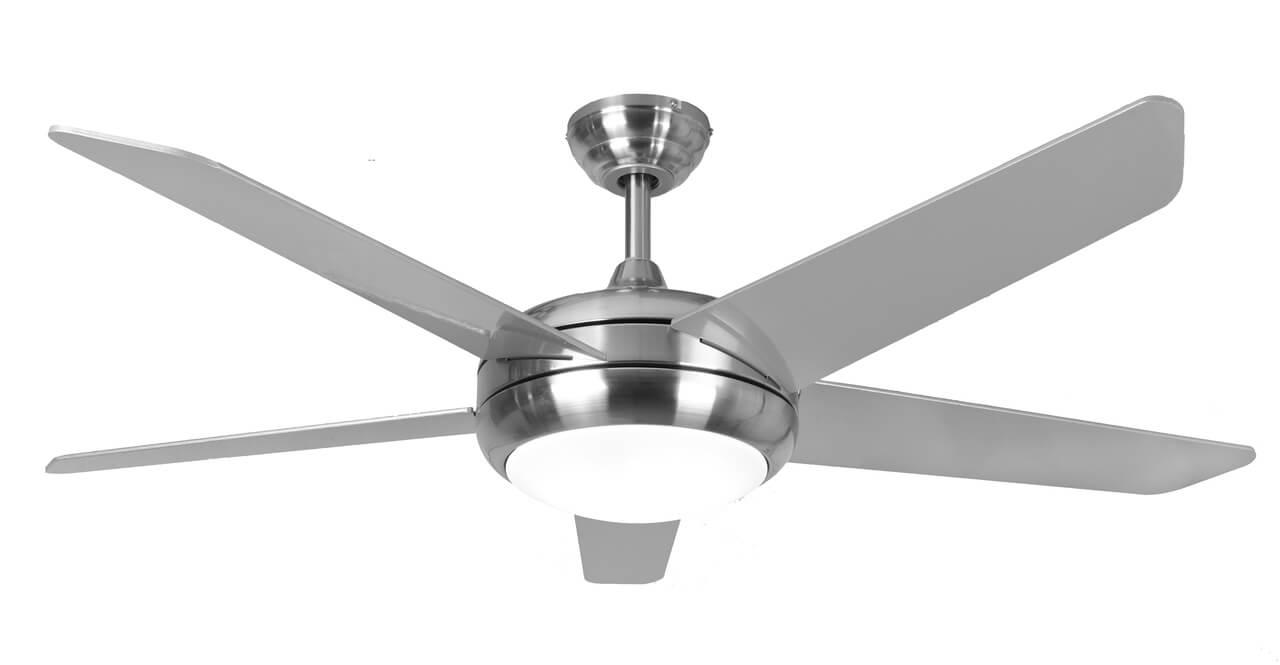 Ceiling Fan Neptune Stainless Steel