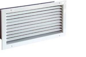 Adjustable ventilation grille CasaFan LG-O Steel