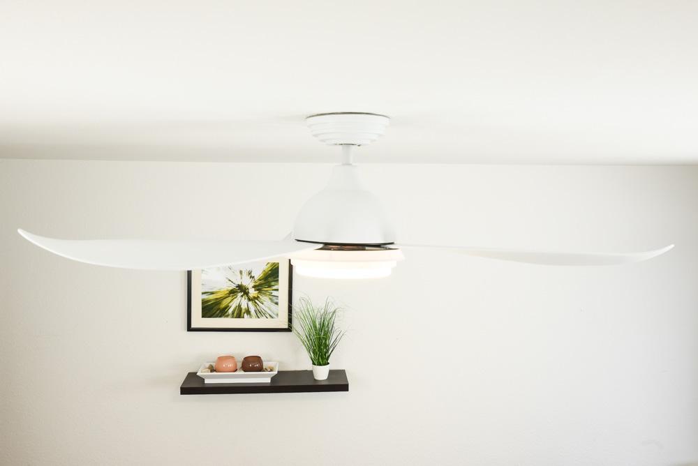 energiespar deckenventilator raja mit led beleuchtung 122 cm. Black Bedroom Furniture Sets. Home Design Ideas