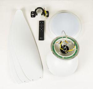 Energiespar-Deckenventilator Raja mit 3-in-1 LED 122 cm – Bild 12