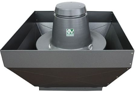 TRT 400 V Roof fan Vertical discharge up to 18000m³/h IP55