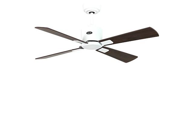 ventilateur de plafond basse consommation eco neo ii 103 cm blanc p les noyer cerisier. Black Bedroom Furniture Sets. Home Design Ideas