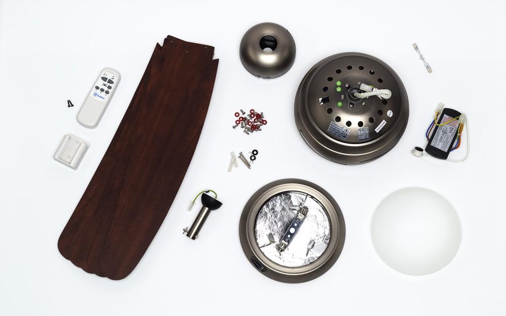 Ersatzteile für Westinghouse Deckenventilator 72564 Bendan dunkles Zinn