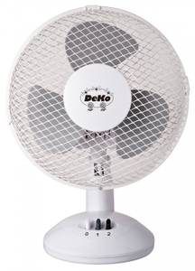Desk Fan - Stratos B 235 White by DEKO