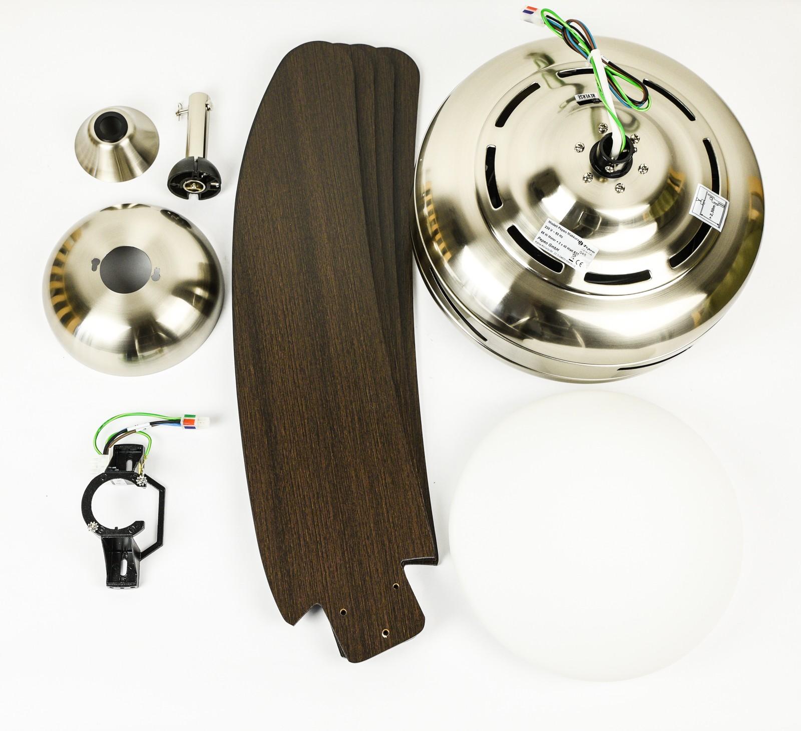 ersatzteile f r pepeo deckenventilator 1320101 makkura pepeo. Black Bedroom Furniture Sets. Home Design Ideas