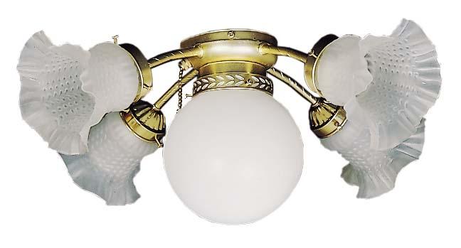 Deko Ceiling Fan Add On Light Kit N 205 Home Commercial Heaters Ventilation Ceiling Fans Uk