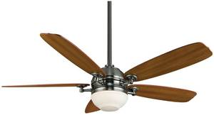 Fanimation Ceiling Fan THE AKIRA Pewter with lighting