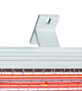 Infrarot Heizstrahler 1400 Kompakt IP24 ohne Schalter – Bild 2