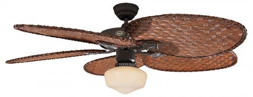 Deckenventilator Mit Beleuchtung Antik : Deckenventilator Classic ROYAL 132 cm Braun antik mit Flügelsatz ...