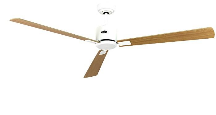 ventilateur de plafond basse consommation eco neo ii 152 cm blanc p les erable h tre. Black Bedroom Furniture Sets. Home Design Ideas