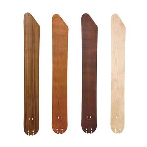Fanimation curved blades for THE ISLANDER in various colours and sizes
