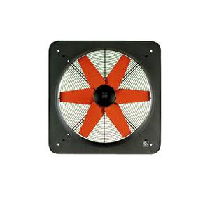 Wall fan E / T Series 400 V, 1000 to 1890 m³/h, IP44