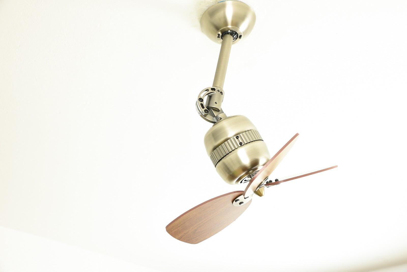 Retro Style Wall Mounted Fan Toledo Brass Portable Fans Of