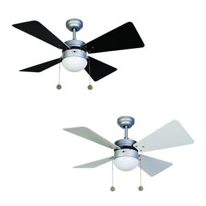 "Beacon ceiling fan Breezer Silver 81 cm / 32"" with lighting"