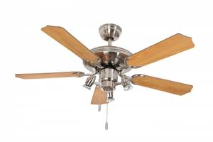 Ceiling fan Steel-Star N630 with lights 132cm / 52""