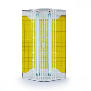 Insect trap with glueboard Flytrap Professional FTP white for commercial sector coverage 80 m²