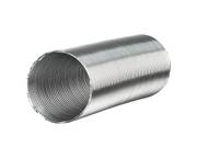 Aluvent flexible air duct folded spiral-seam pipe in various sizes 001