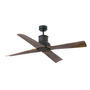Energy-saving outdoor ceiling fan Faro Winche Black
